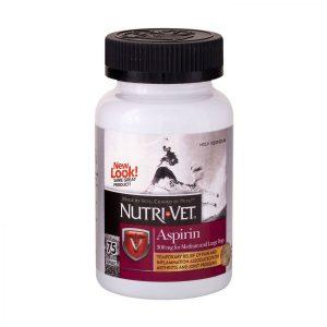 front view nutri-vet aspirin for dogs