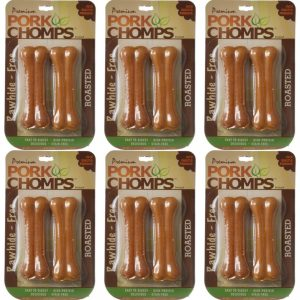 pork chomps pack of 6 front view
