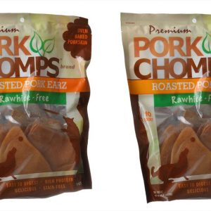 pork chomps pig 2 pack front view